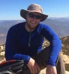 Jon Adams atop El Cajon Mountain in San Diego.