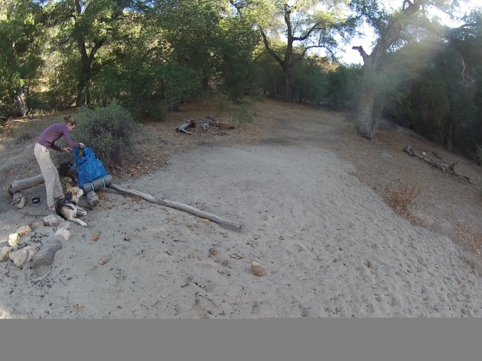 Agua Caliente Creek Trail Camp on PCT