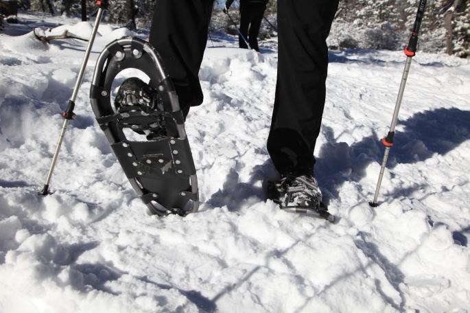 Jon's New PCT Snowshoes