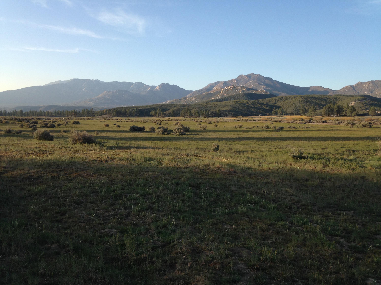 Trail view outside Warner Springs