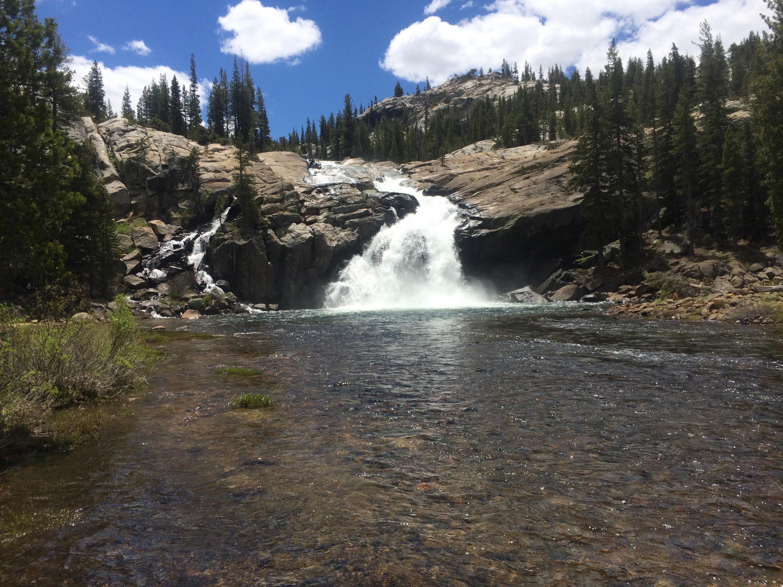 Waterfall in Yosemite!