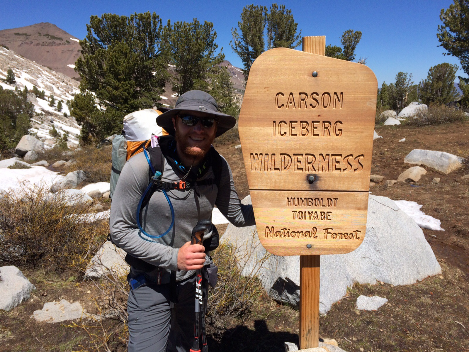 Entering Carson-Iceberg