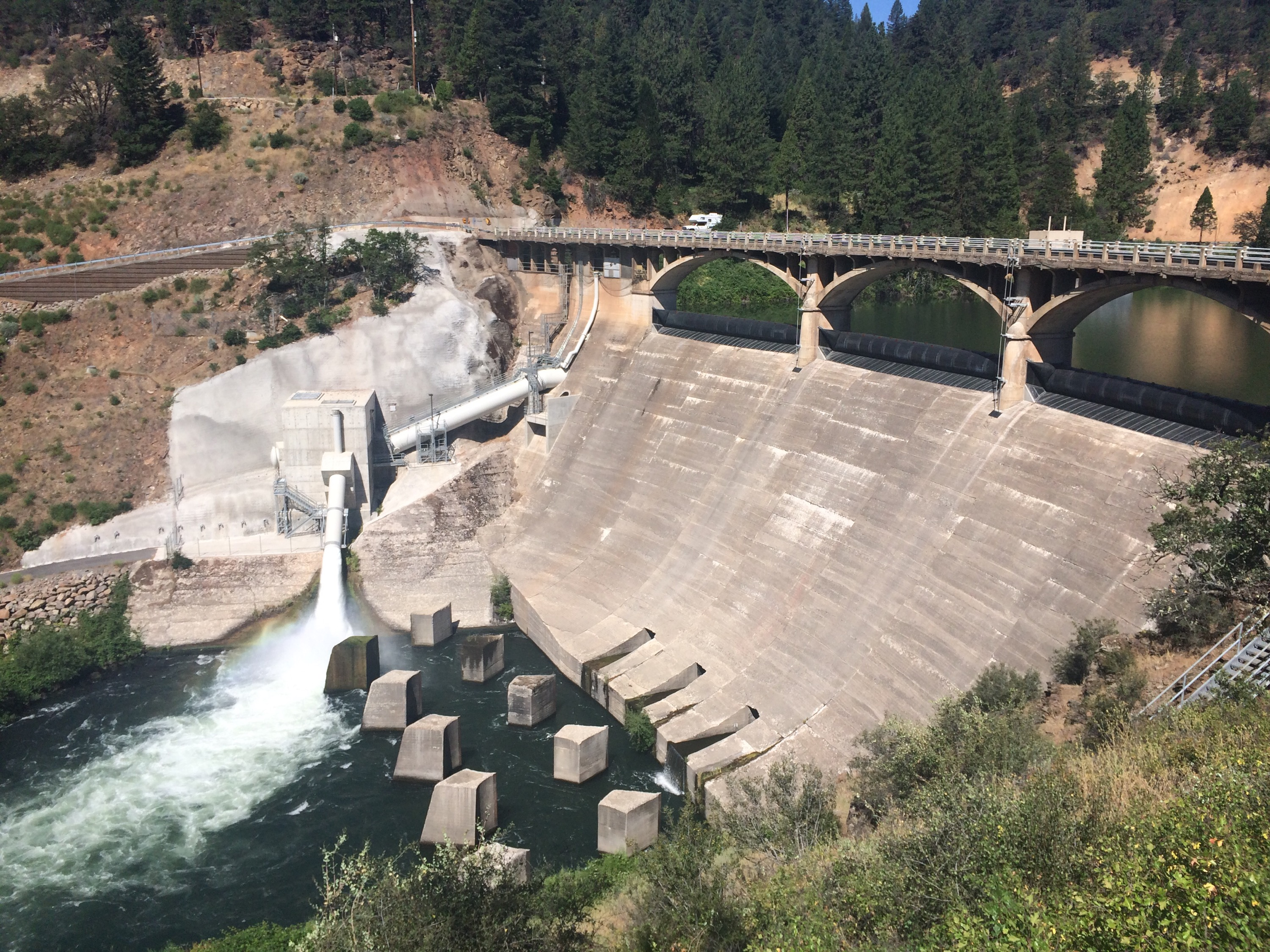Dam on the Pit River