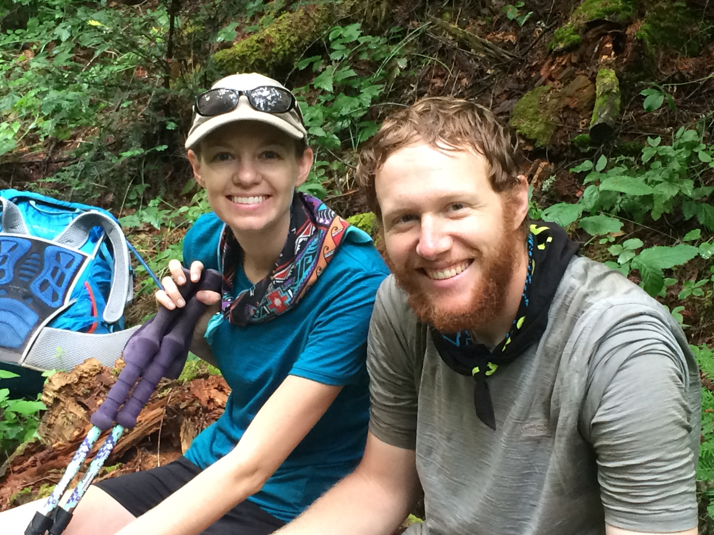 Trail smiles