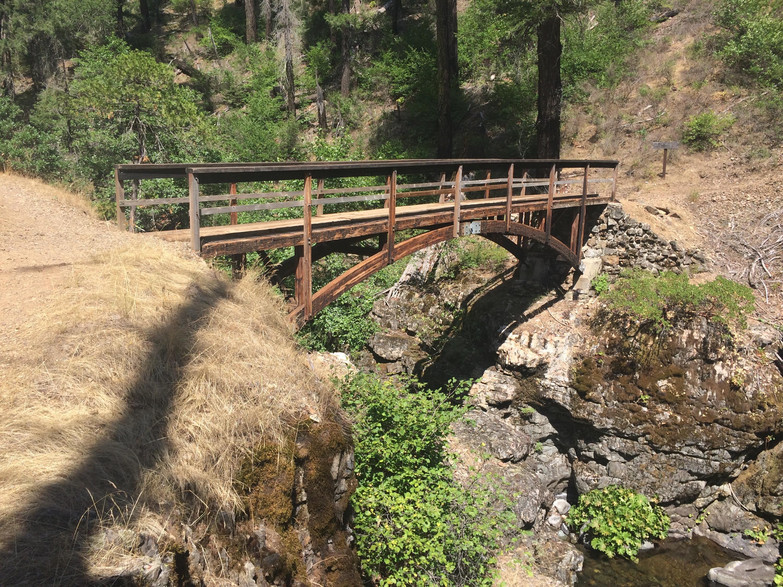 Squaw Valley Creek bridge