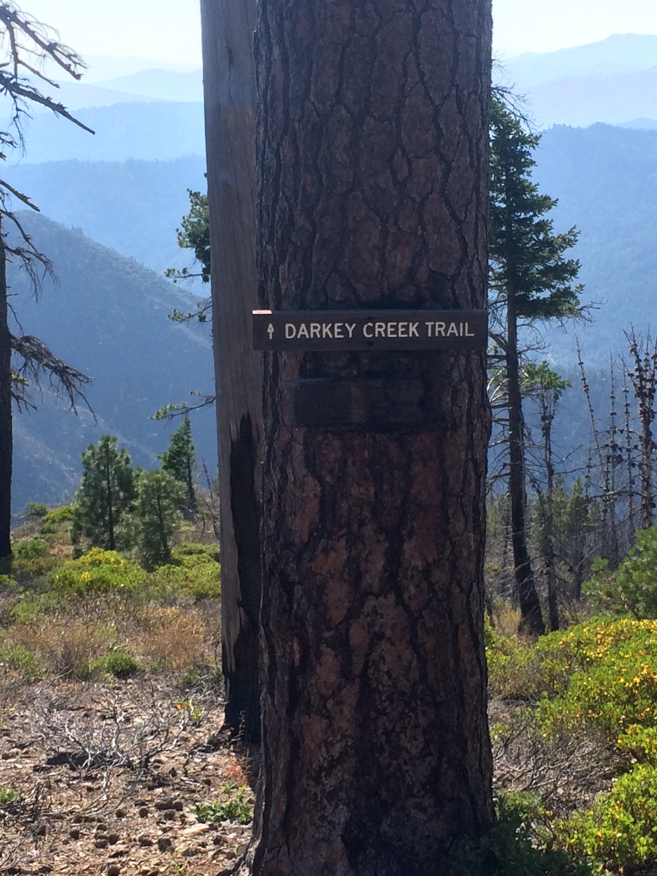 Seemingly racist trail name.