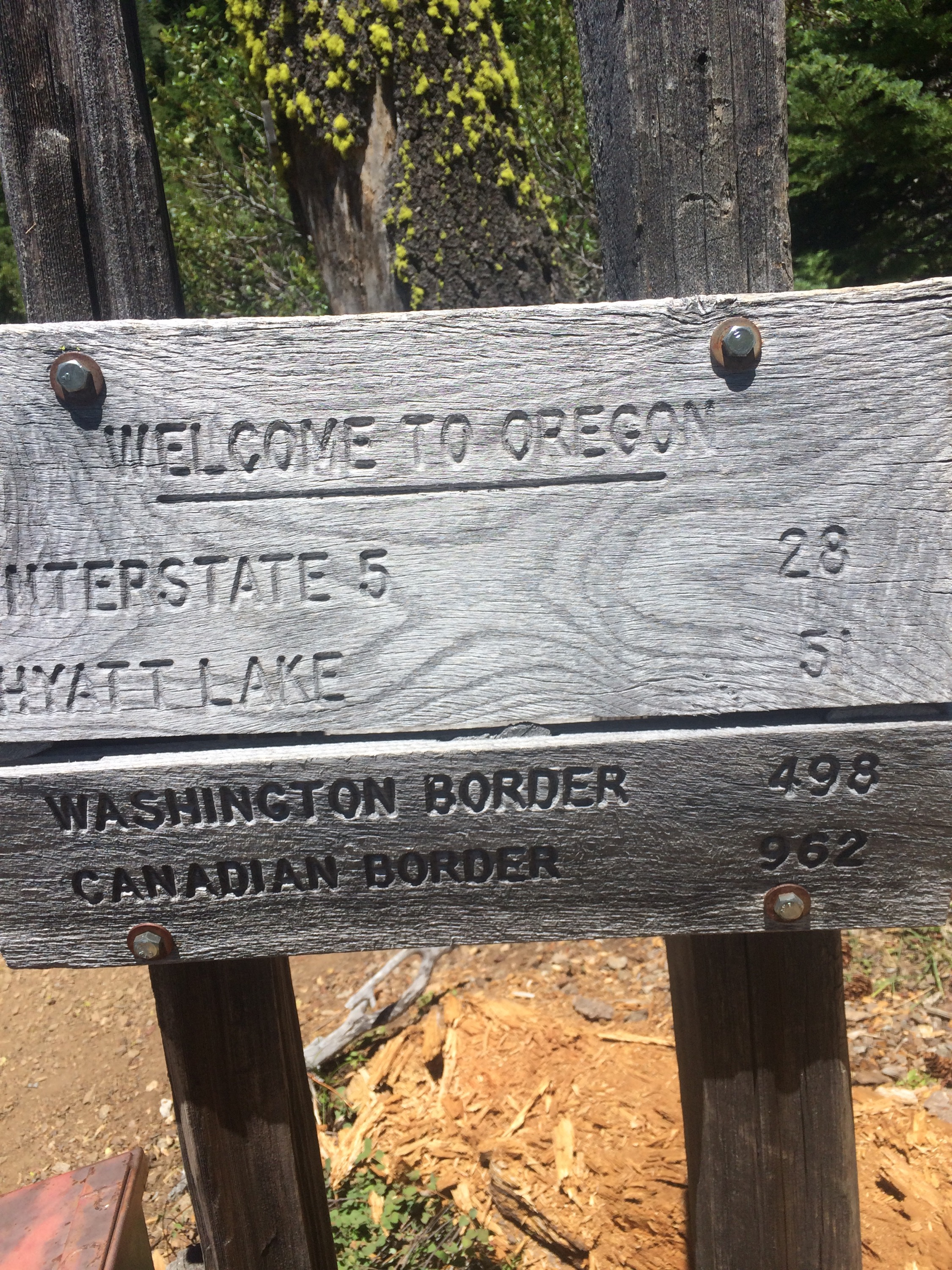Oregon / California Border!