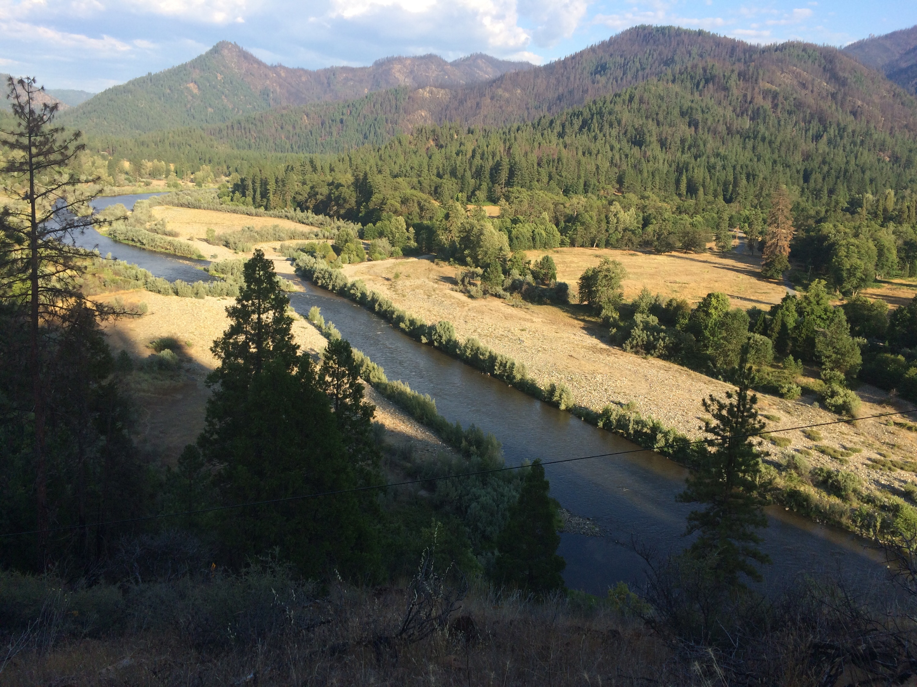 View of the Klamath River